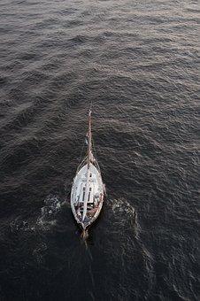 Sailboat, Ship, Sea, Boat, Sailing, Ocean, Nautical
