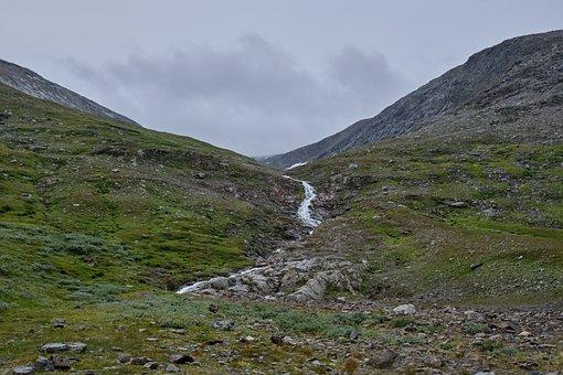 Mountains, Hiking, Camping, Stream, Trekking, Adventure