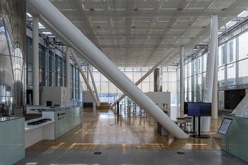 Office Lobby, Interior Design, Architecture