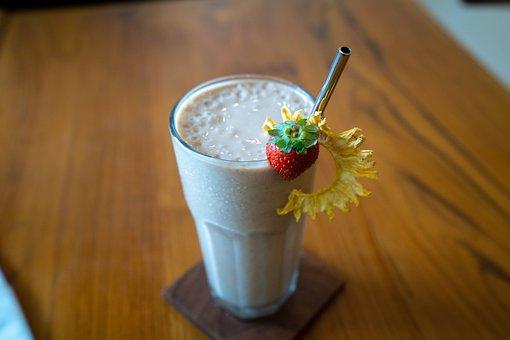 Milkshake, Juice, Drink, Refreshment, Cold Beverage