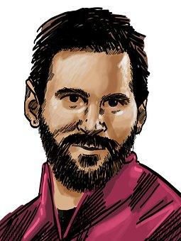 Lionel Messi, Footballer, Portrait
