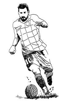 Lionel Messi, Footballer, Soccer Player, Messi