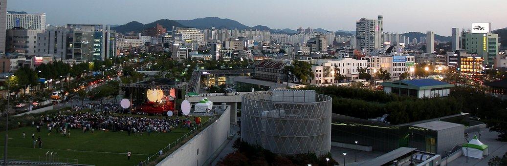 Outdoor Concert, Festival, Event, City, South Korea