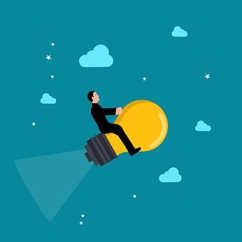 Business, Success, Lightbulb, Businessman, Concept