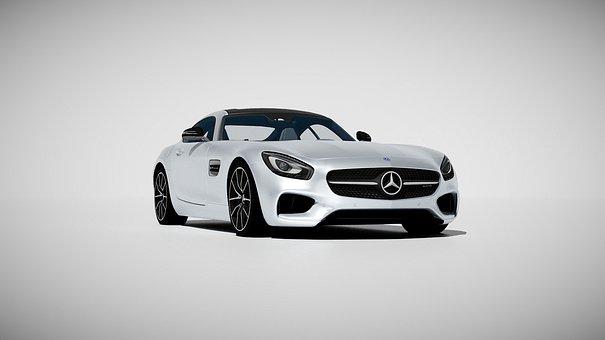 Mercedes-amg, Mercedes, Car, Gt, Sport Car, Rendering