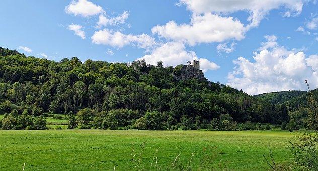 Castle Ruins, Neideck, Streitberg, Wiesenttal