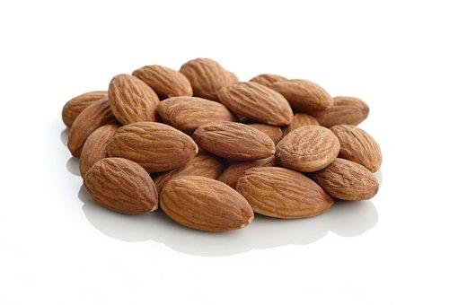 Almonds, Unshelled Almonds, Nuts, Almond Kernels, Snack