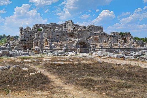 Perge, Ruins, Turkey, Anatolia, Ancient City