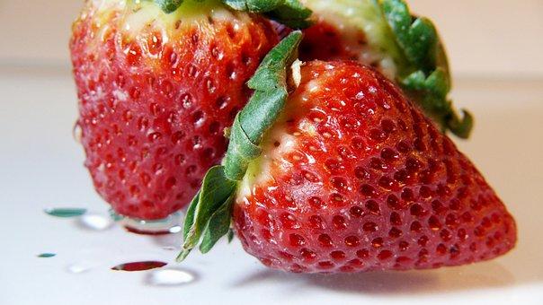 Strawberries, Fruits, Berries, Food, Fresh, Healthy