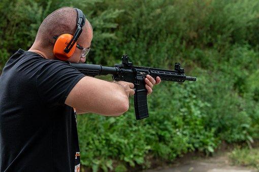 Soldier, Man, Weapon, Rifle, Military, Gun, Shield