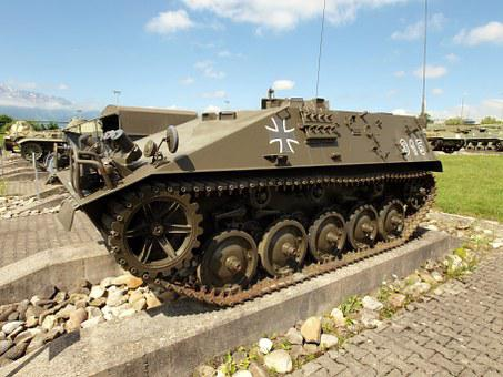 Armored Tracked Vehicle, Kurz, Switzerland, Tank