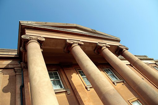 House, Columns, Pillars, Pillar, Column, Mansion