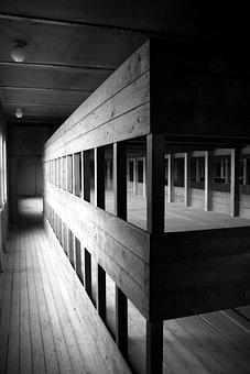 Konzentrationslager, Dachau, Barracks, Dormitory, Kz