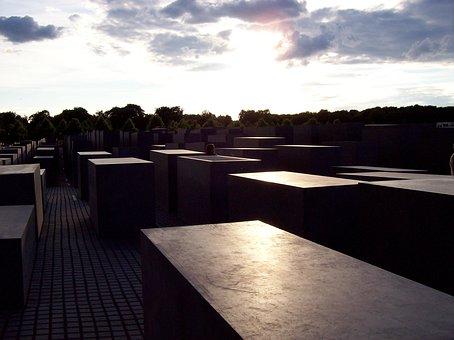 Holocaust, Monument, Berlin, Germany, Europe, Memorial