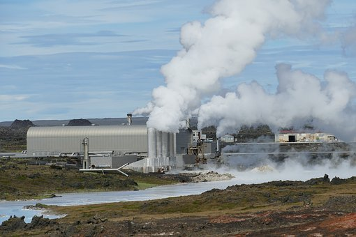 Iceland, Power Plant, Geothermal Energy, Geothermal