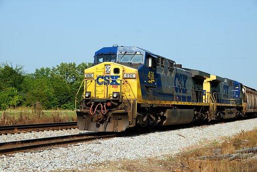Diesel Train, Train, Tracks, Industry, Diesel