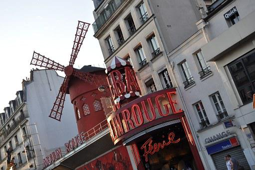 Moulin Rouge, Paris, Cabaret