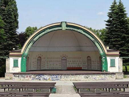 Amphitheater, Park Ludowy, Stage, Outdoor, Park