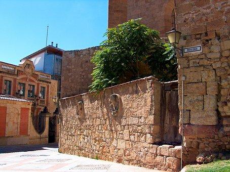 Lane, Spain, Narrow Lane, Salamanca, Pierre