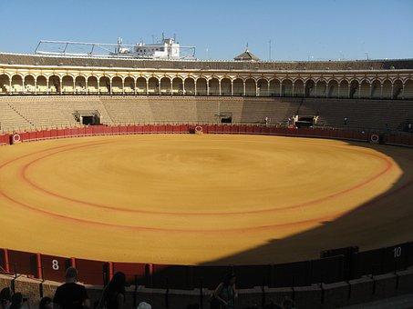 Bullring, Bullfighting, Seville, Andalusia, Spain