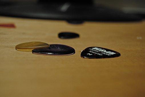 Guitar Picks, Guitar, Picks, Music, Instrument, Sound