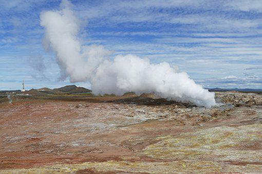 Iceland, Source, Spa, Volcanic, Nature, Geyser, Hot
