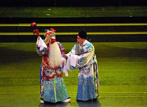 Opera, Chinese, Play, Stage, Beijing, Kunqu, Theater
