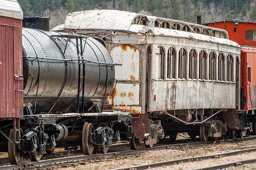 Train, Antique, Cars, Passenger, Transportation, Old