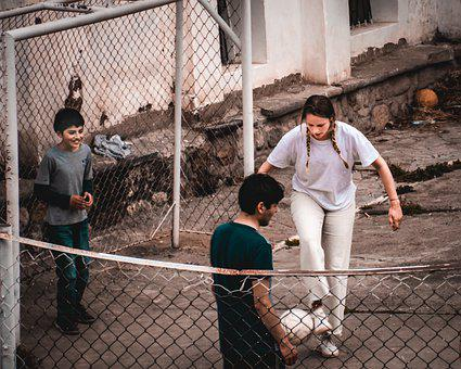Soccer, Children, Playing, Childhood, Outdoors, Friends
