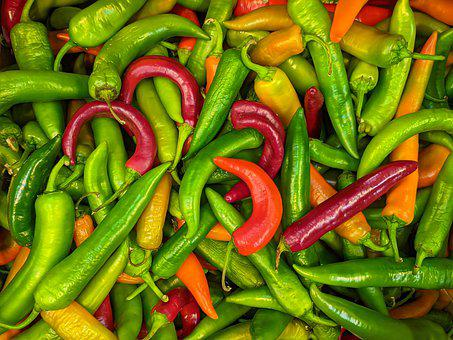 Chili Peppers, Peppers, Vegetables, Produce