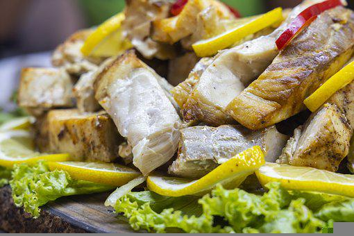 Chicken, Spice, Sos, Turkey, The Fish, Vegetable, Food