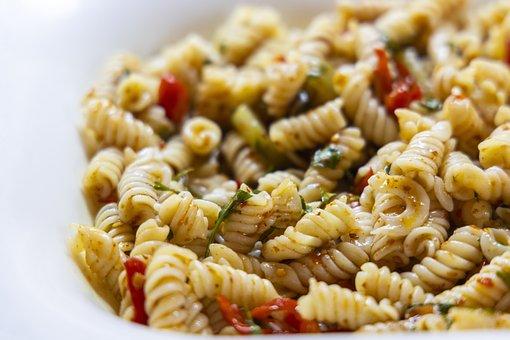 Pasta, Vegetables, Mixed, Vegan, Vegetarian, Food, Diet