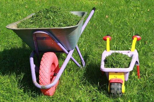 Wheelbarrows, Lawn Care, Gardening With Kids, Gardening