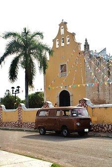 Church, Mexico, Architecture, Religion, Mexican Culture