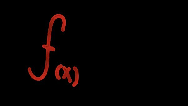 Function, Math, Black, Red, Neon, Algebra, Studies, F X
