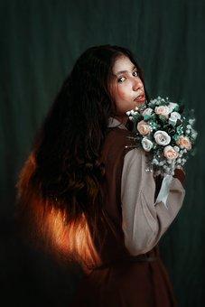 Indonesia, Portrait, Women, Woman, Beauty, Model, Mode