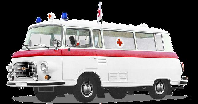 Barkas, B1000, From 1961, Ktw, Patient Transport