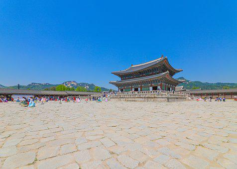 Palace, Gyeongbok Palace, Forbidden City