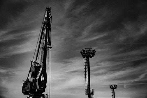 Crane, Heavy Machinery, Structure, Croatia