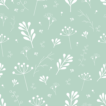 Flowers, Green, Background, Twigs, Leaves, Floral