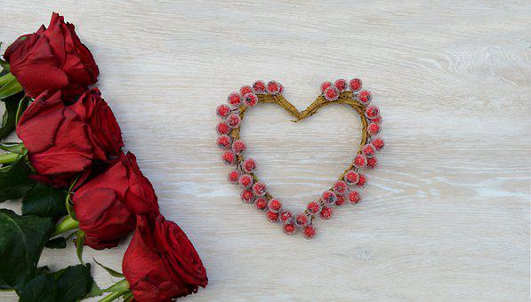 Red Roses, Roses, Flowers, Rose Bloom, Petals