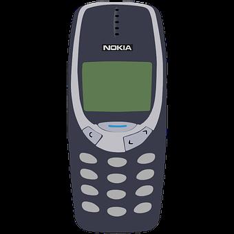 Cellphone, Mobile Phone, Antique, Push-button Phone