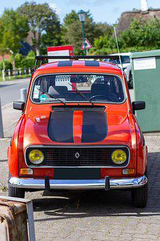 Car, Antique Car, Renault, Transport, Nostalgia