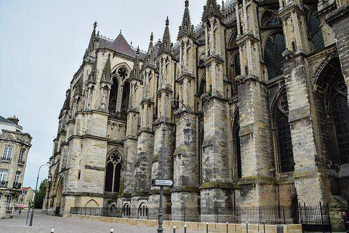 Church, Cathedral, Building, Antique, Europe