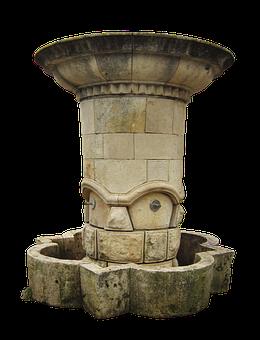 Drinking Fountain, Fountain, Stone, Water Fountain