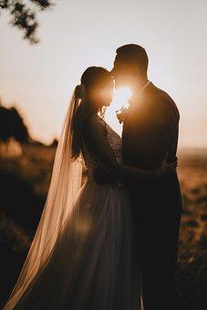 Love, Wedding, Romance, Couple, Woman, Man, Bride