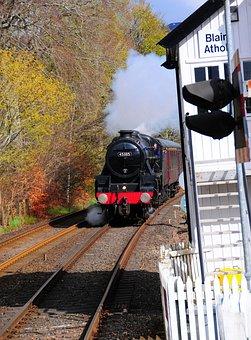 Train, Locomotive, Railroad, Railway, Transportation