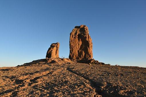 Mountain, Sunrise, Quiet, Reflection, Landmark