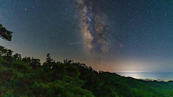 Night Sky, Milky Way, Nature, Night, Background, Sky