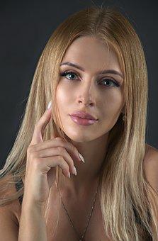 Woman, Beautiful, Portrait, Blonde, Caucasian